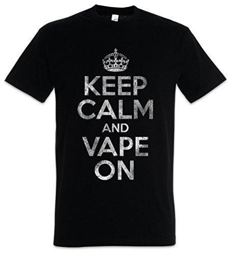 The Mermaid Conviction Keep Calm and Vape On T-Shirt - Tamaños S - 5XL