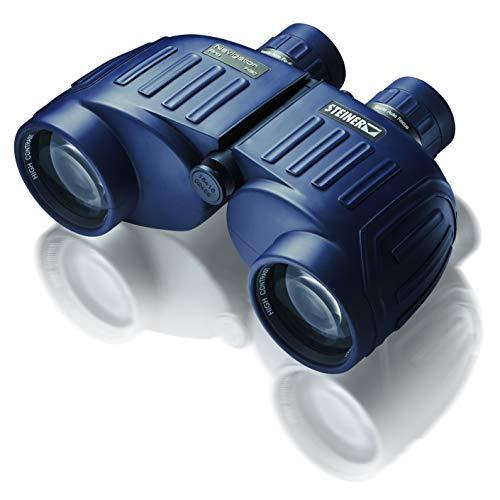 Steiner Navigator Pro 7x50 prismáticos marinos - robustos, de alto detalle, impermeables a 5 m: la primera opción para los entusiastas de los deportes acuáticos y los navegantes aficionados