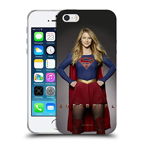 Head Case Designs Ufficiale SuperGirl TV Series Kara Zor-El Arte Chiave Cover in Morbido Gel Compatibile con Apple iPhone 5 / iPhone 5s / iPhone SE 2016