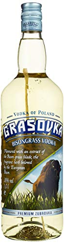 Grasovka Bisongrass Vodka (1 x 1 l)