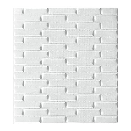 Adhesivo para azulejos 3D para pared posterior de cocina, azulejos de pared, 77 x 70 cm, pasta de azulejos DIY, impermeable, varios azulejos de pared adhesivos para cocina, baño, mármol (G)