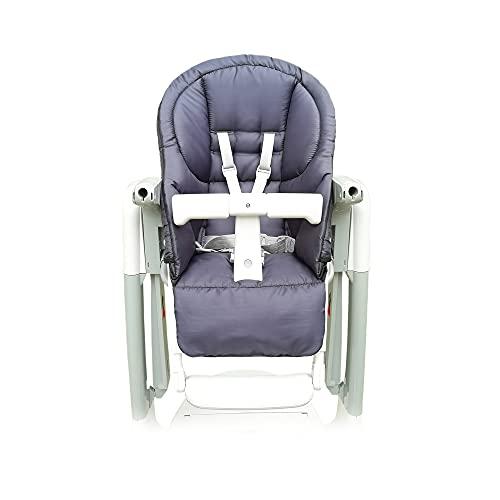 Aveanit Funda de repuesto para silla de bebé Peg Perego Prima Pappa Tatamia, resistente al agua, grafito, grafito