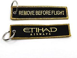 Etihad Fabric Keychain