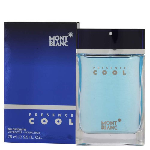 Mont Blanc Presence Cool by Montblanc for Men – 2.5 oz EDT Spray