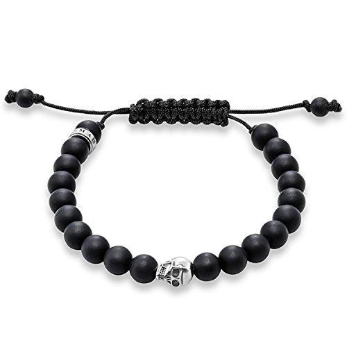 Thomas Sabo Damen-Armreifen Künstliche Perle A1118-172-11-M
