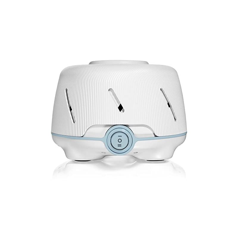 crib bedding and baby bedding yogasleep dohm (white/blue) | the original white noise machine | soothing natural sound from a real fan | noise cancelling | sleep therapy, office privacy, travel | for adults & baby | 101 night trial