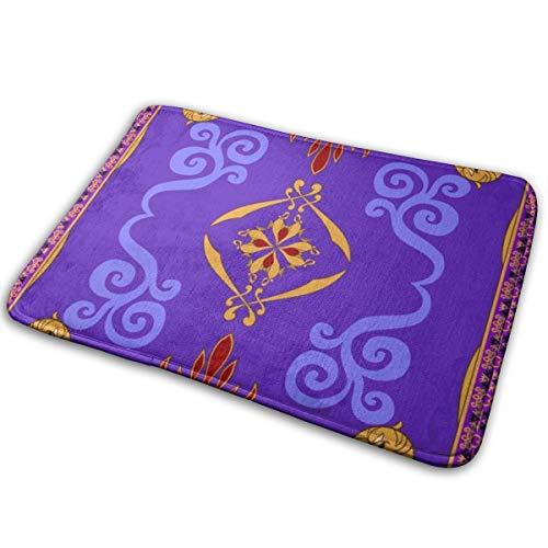 Meiya-Design Aladdins Tapis de bain magique doux et absorbant Tapis de bain antidérapant et en peluche pour salle de bain, salon et buanderie 40 x 60 cm