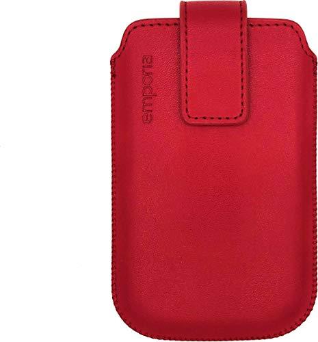 Nappa Slide Pocket V188 emporia Touchsmart-Rot