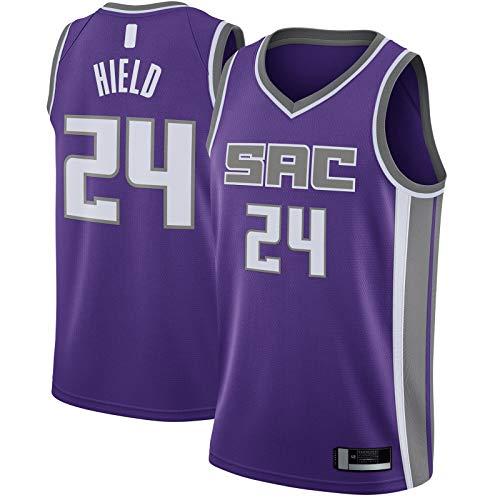 Purple -Buddy - Camiseta de baloncesto para hombre, sin mangas, talla XXL, diseño de Sacramento