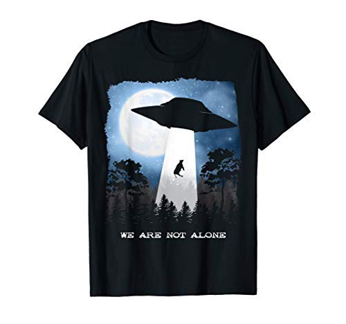 Alien Abduction Cow - UFO We Are Not Alone Gift T-Shirt