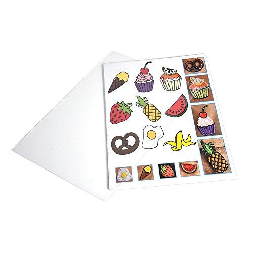 Papel de plantilla de 20 piezas para lápiz 3D, molde de plantilla de papel de lápiz de impresora 3D de 250 mm x 170 mm para lápiz de impresión 3D, plantilla de graffiti DIY 40 patrones de dibujos anim