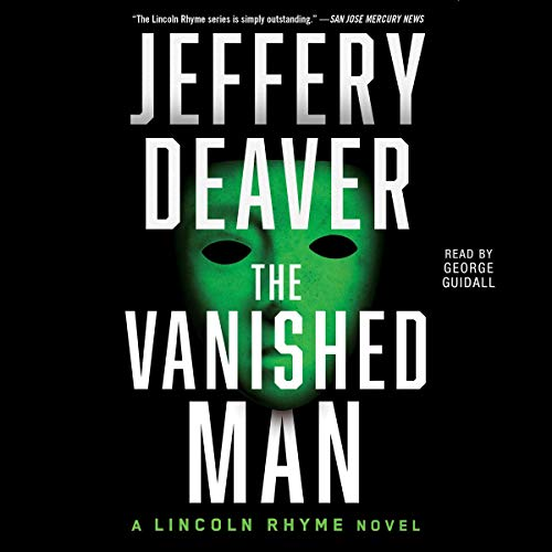 The Vanished Man audiobook cover art