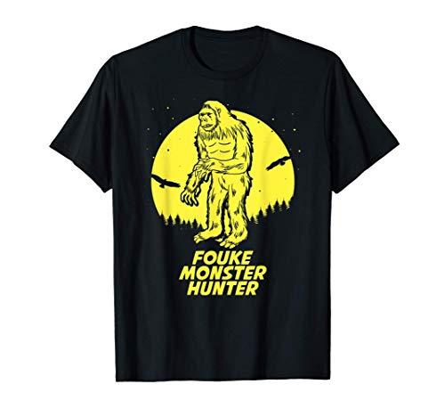 Fouke Monster Hide & Seek Hunter Champion Cryptid T-Shirt