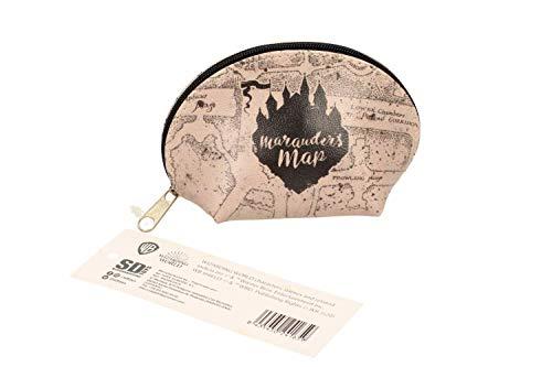 Sd Merchan- Estuche Ovalado Mapa Merodeador Harry Potter (SDTWRN24165)
