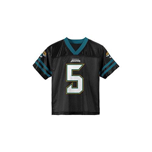 Outerstuff Blake Bortles Jacksonville Jaguars Black Toddler Player Home Jersey (Toddler 2T)