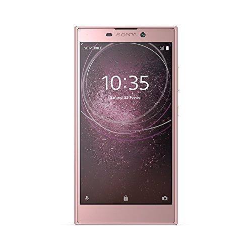 Sony Xperia L2 Smartphone débloqué 4G (Ecran: 5,5 pouces - 32 Go - Nano-SIM - Android) Rose