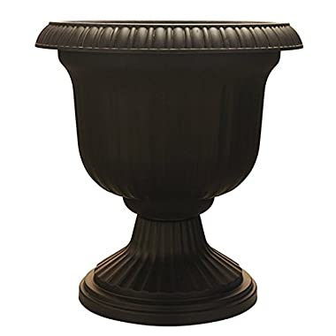 Southern Patio 19  Utopian Urn, Black