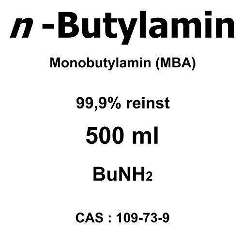 500 ml n-Butylamin 99,9%, MBA, Weichmacher, Emulgator, Korrosionsschutzmittel