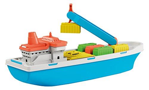 ADRIATIC Nave Cargo Barca in Plastica Gioco Estivo Estate Giocattolo 268, Multicolore, 8002936837004