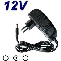 Top cargador® Adaptador alimentación cargador 12V para Piano Digital Thomann dp-26DP 26