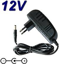 Top cargador® Adaptador alimentación cargador 12V para TV televisor TV Nevir nvr-7503–22HD-N TDT HD