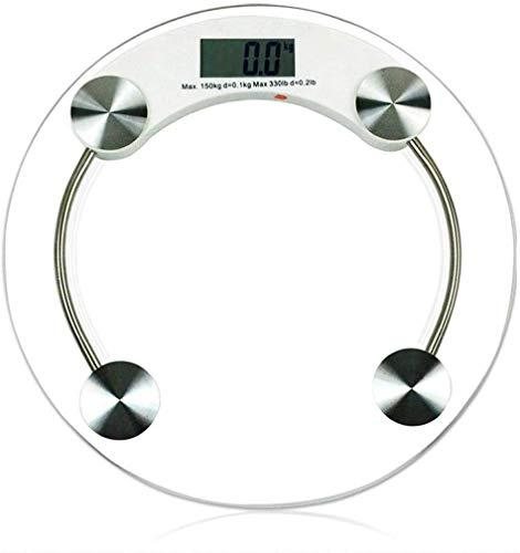 LQH Elektronische Waage Startseite Precision Body Balance Stärke gehärtetes Glas Gewichtsverlust Erhöhte
