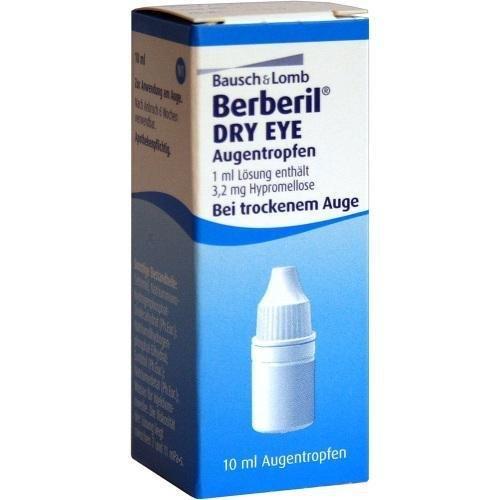Berberil Dry Eye Augentropfen bei trockenem Auge, 10 ml Lösung