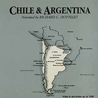 Chile and Argentina audiobook cover art