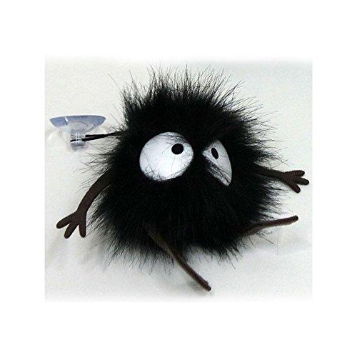 Studio Ghibli Chihiros Reise Plüsch- Rußmännchen mit Saugnapf Farbe: schwarz. Material: 100{2bbc6e4a2083618bc11f11bc8cd0ac0e425160a30788baabc3250484766e32f5} Polyester, Hersteller Sun Arrow.