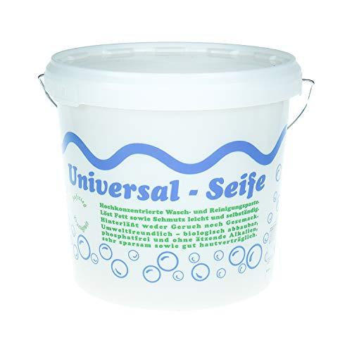 Aufstieg Qualität Universalseife 5 Liter Eimer Pastös | Neutralseife | Universalreiniger für Haushalt und mehr | Hochkonzentrierte Wasch- und Reinigungspaste | PH-neutral | Biologisch abbaubar
