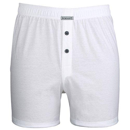 Boxershort Fano in weiß von Kapart in großen Größen bis 16, Größe:12