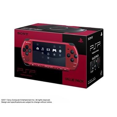 "SONY PSP ""Playstation Portable"" Value Pack Red / Black (Pspj-30026) (Japan Import)"