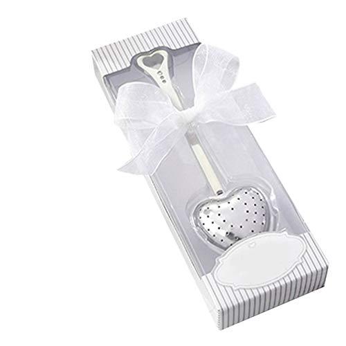 Heart Design cucchiaino infusore filtro wedding souvenir bridal Shower favor Gift Collectsound