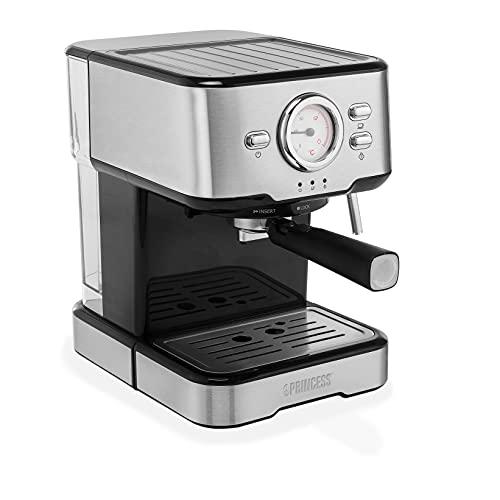 Princess 249412 Máquina de café para Espresso italiano, Compatible con cápsulas...