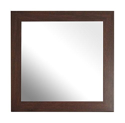 Innov8 Traditionele spiegels, orchard, donker eiken, bruin, 2 stuks 12 x 12-Inch bruin