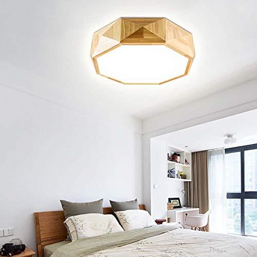 Primaire en manier kroonluchter lichten kroonluchter kristal plafondlamp hanglamp binnenlamp led plafond woonkamerlamp Japanse houten blokken hoofdstijl en minimalistische I
