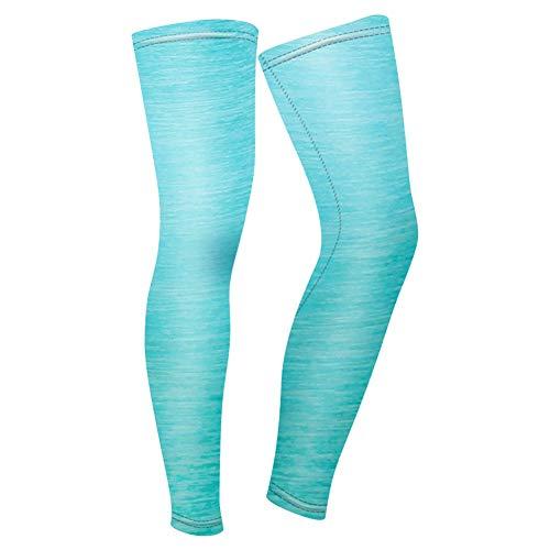 41jk2DIsjcL. SS500  - SheMi Outdoors Cycling Accessories Bike Leg Sleeves - Unisex Full Leg Sleeves Overknee Compression Calf Shin Sleeves…