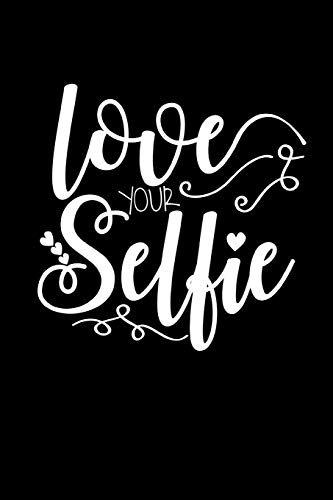 Love Your Selfie: This is a blank, lined journal that makes a perfect Valentine's Day gift for men or women. It's 6x9 with 120 pages, a convenient size to write things in.