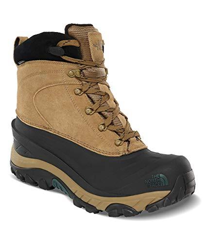 The North Face Men's Chilkat III Insulated Boot, British Khaki/TNF Black, 10.5 D
