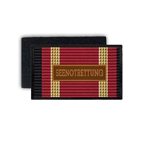 Copytec Einsatzbandschnallen SEENOTRETTUNG Patch Auszeichnung BW Mittelmeer #33787