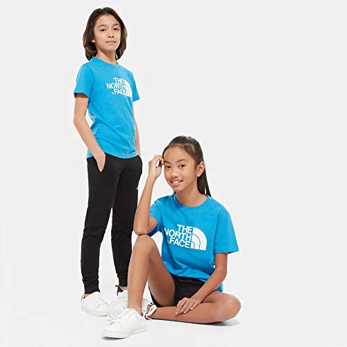 THE NORTH FACE Kinder Tee Y S/S Easy Tee Clear Lake Blue, Blue, L, NF00A3P7W8G