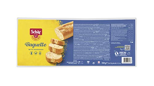 Dr. Schar Pan Baguette SIN GLUTEN - Paquete de 2 x 175 gr - Total: 350 gr