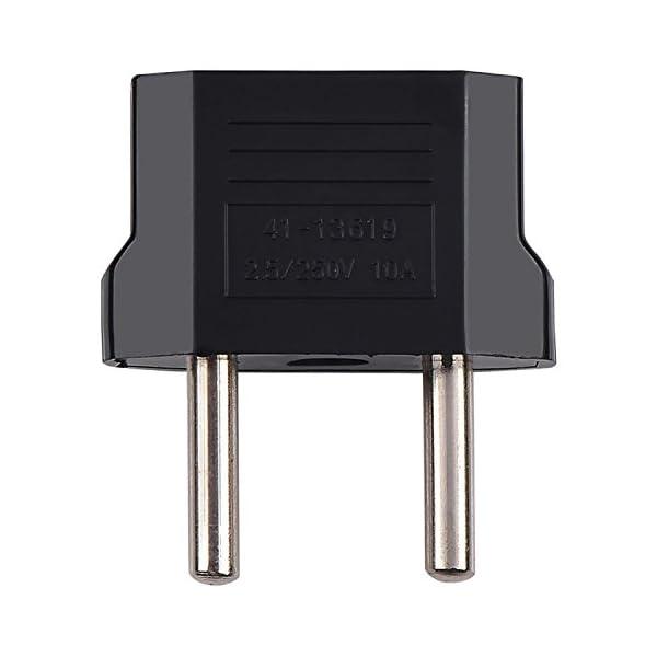 Adaptateur-Adapteur-Chargeur-secteur-prise-AUUS–EU-europe-AC-socket-FR-Noir