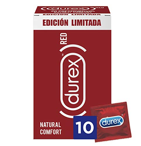 Durex Red Kondome Natural Comfort 10 condooms