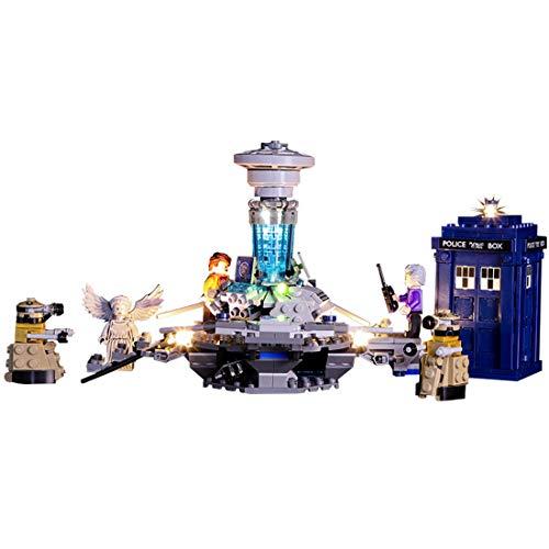 POXL Conjunto de Luces per Ideas Doctor Who, Kit de luz LED Light Compatible con Lego 21304 - Modelo No Incluido