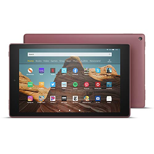 All-New Fire HD 10 Tablet (10.1' 1080p full HD display, 32 GB) – Plum