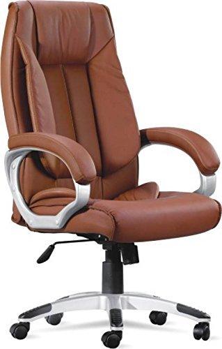 Casual Ergonomic Chair (Wood ,Tan,1 Piece)