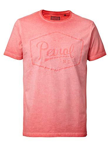 T-Shirt Farbverlauf Logo