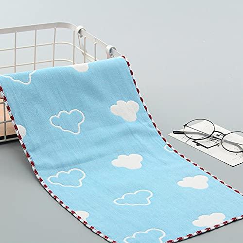 Pañuelo de algodón para bebé recién nacido toalla reutilizable paño húmedo toallitas tamaño: 19.69 x 9.84 pulgadas 3 piezas Laceblueclouds Lacepocketmonkey 19.69 x 9.84 I Nch 3