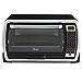 Oster Large Digital Countertop Convection Toaster Oven, 6 Slice, Black/Polished Stainless (TSSTTVMNDG-SHP-2) (Renewed)